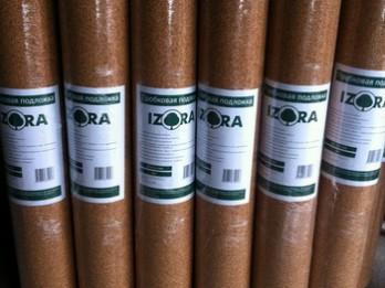 Подложка пробковая IZORA 2мм (Португалия)