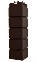 Угол клинкерный кирпич коричневый