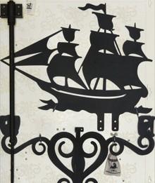 Флюгер люкс Корабль l04